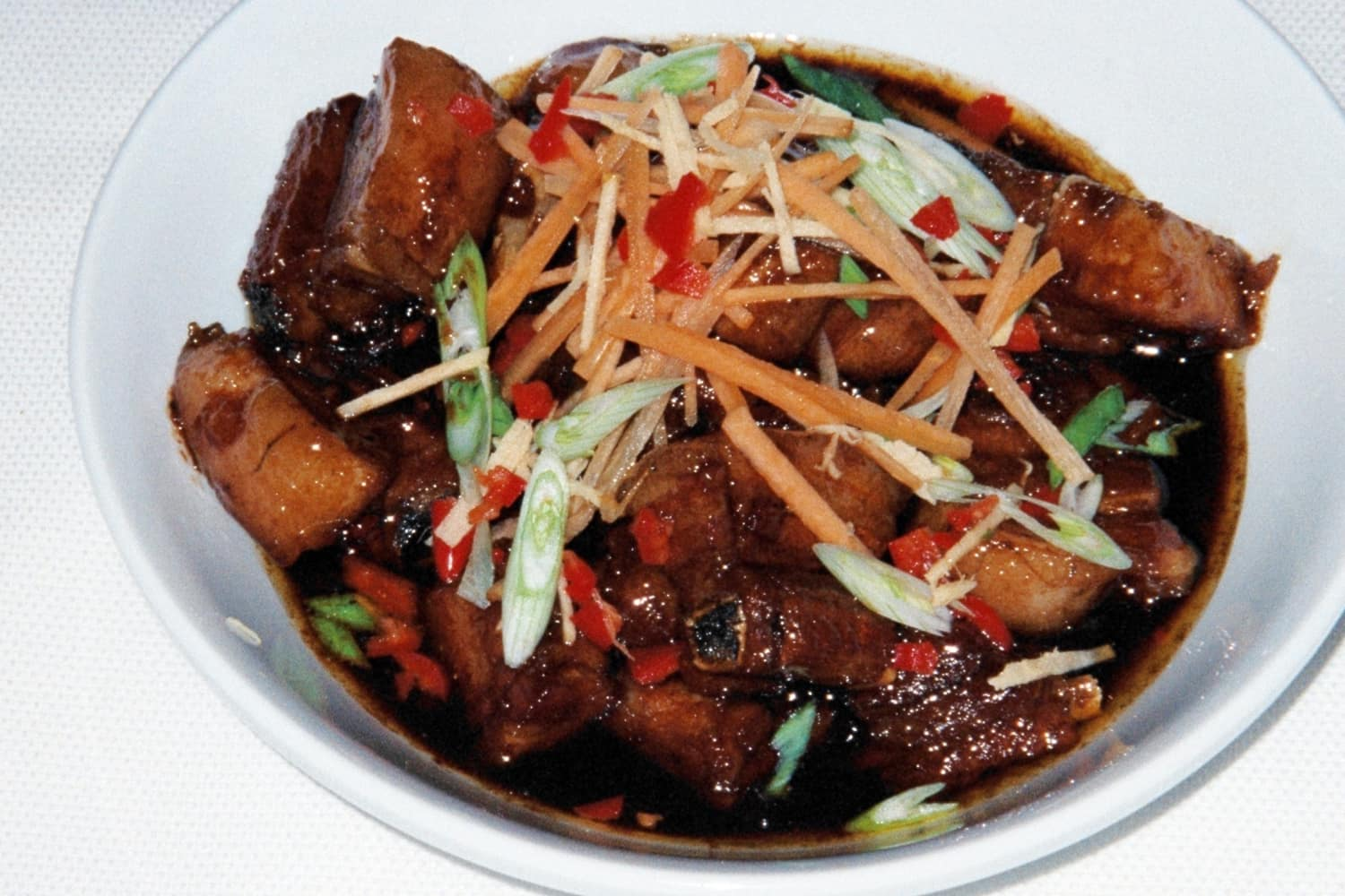 Braised Chinese Spareribs