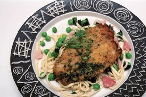 Herb Crusted Lemon Sole