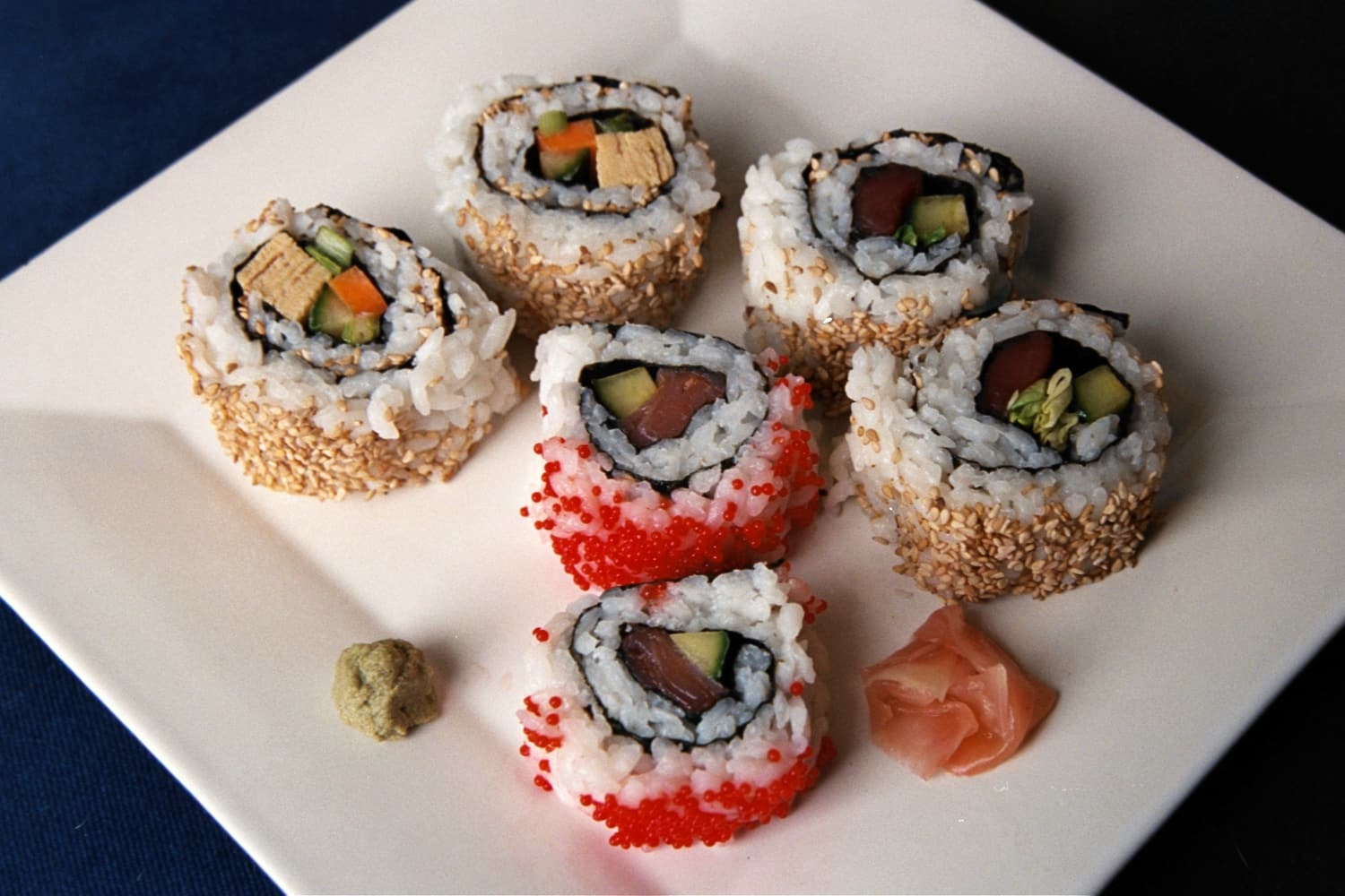 Inside-Out Rolls: Yukiwa-Maki