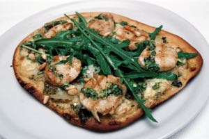 Scallop and Sweet Potato Pizza