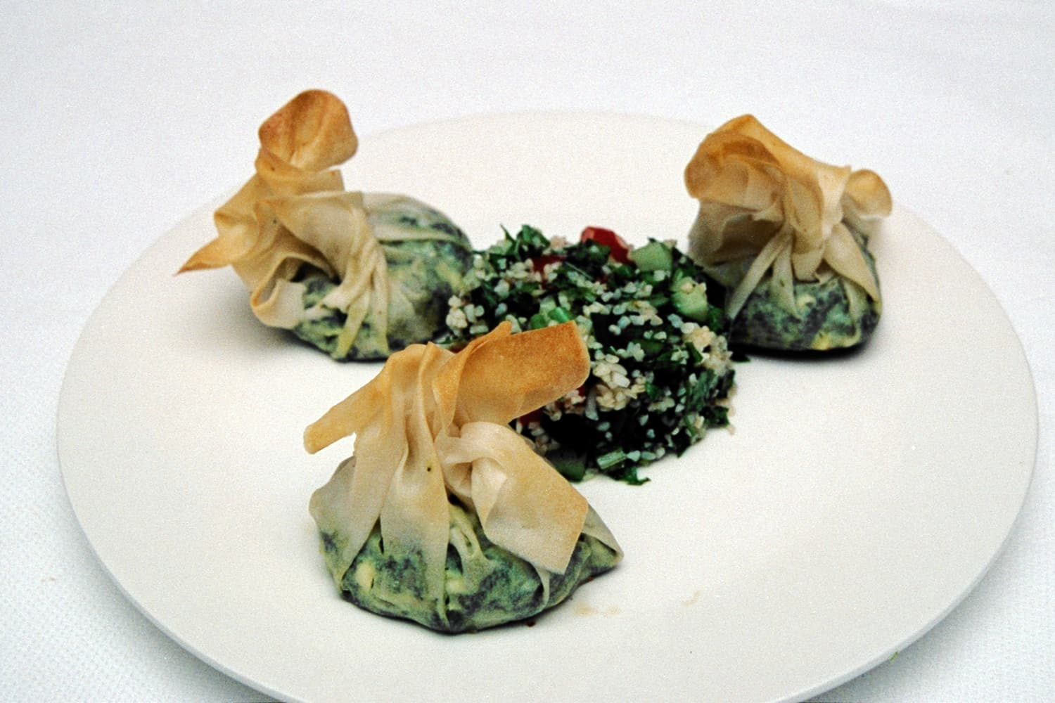 Spinach Parcels