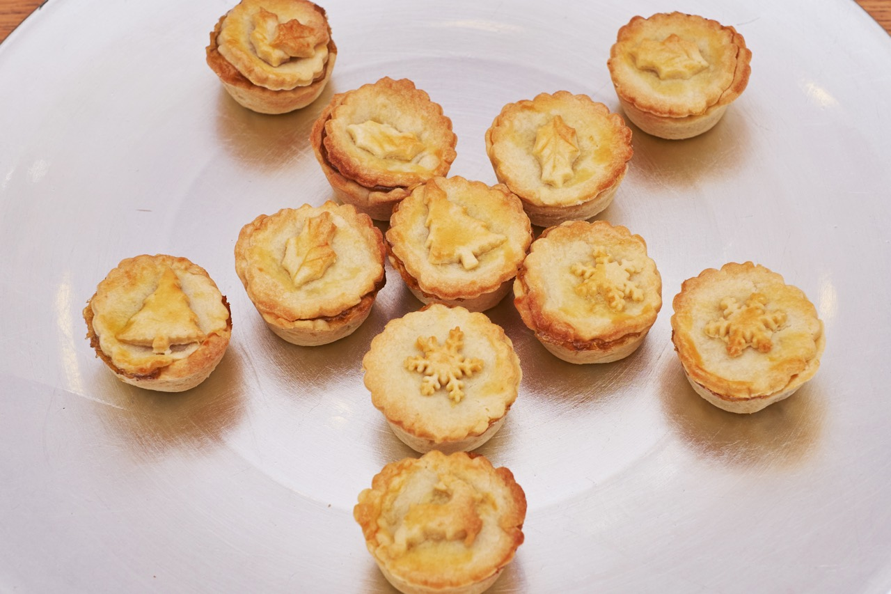 Mince Pies at Christmas