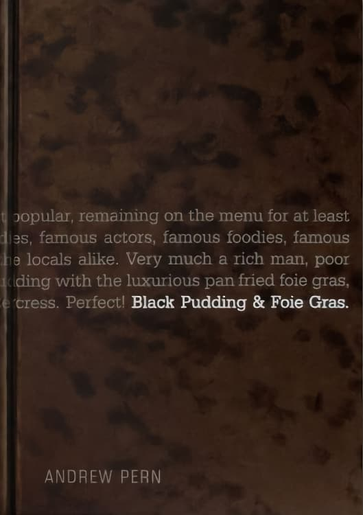 Black Pudding & Foie Gras