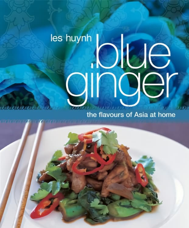Blue Ginger by Les Huynh